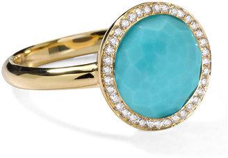 Ippolita Rock Candy Mini Lollipop Diamond Turquoise Ring