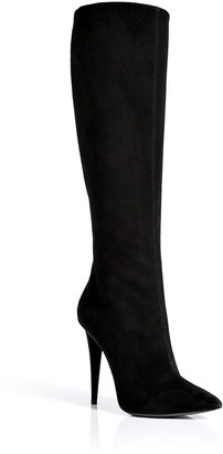 Giuseppe Zanotti Suede Pointed Toe Boots