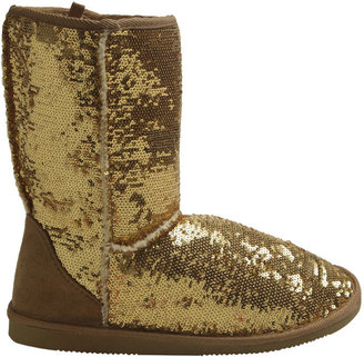 Wet Seal Sequin Most Wanted Boot