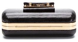 Louis Vuitton Black Lizard Petit Tresor Minaudiere