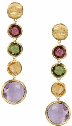 Marco Bicego Jaipur 18K Yellow Gold And Multi-Stone Drop Earrings