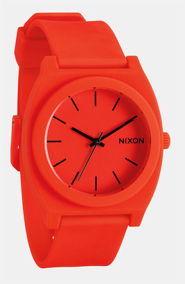 Nixon 'The Time Teller' Watch Orange One Size