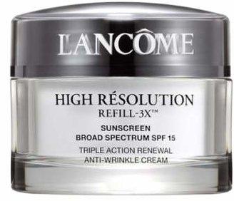 Lancôme High Resolution Refill-3X Anti-Wrinkle Moisturizer Cream