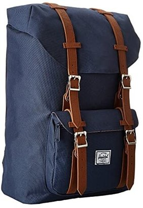 Herschel Little America Mid-Volume (Black) Backpack Bags