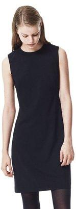 Theory Mandlan Dress in Reedly Stretch Virginwool