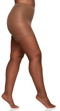 Berkshire Women's Plus Size Ultra Sheer Control Top Pantyhose, 4411