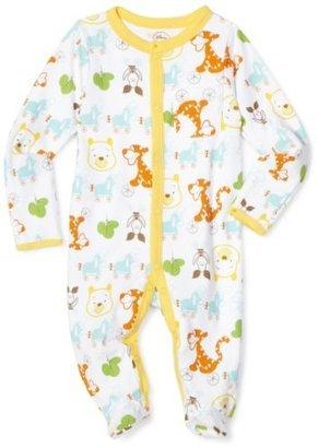 Disney Baby-Boys Newborn Winnie The Pooh On Wheels Sleep and Play Romper
