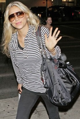 Peace Love World Peace Love World The Weekender Bag as Seen On Anna Kournikova