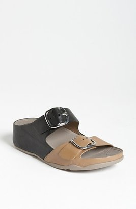 FitFlop 'Summa' Sandal Black/ Mink 9 M