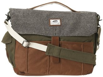 Vans Lassen Messenger (Ivy Green) - Bags and Luggage