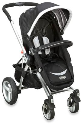 Simmons Comfort Tech Urban Buggy Stroller in Black