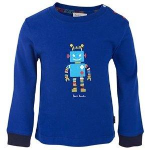 Paul Smith Blue Robot Tee