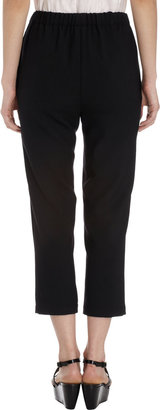 Marni Flannel Cropped Trousers