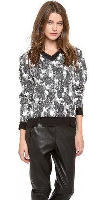 Thakoon Long Sleeve Pullover
