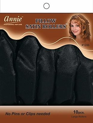 Annie Pillow Satin Rollers, Large, 10 Count $5 thestylecure.com