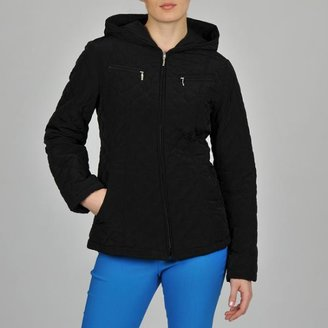 Esprit Women's Hooded Zip Front Jacket $69.99 thestylecure.com