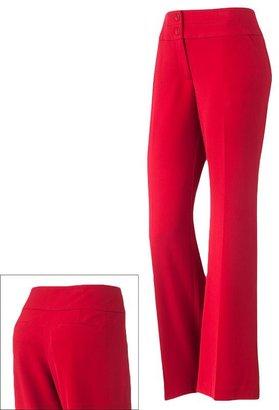 Apt. 9 curvy fit trouser pants