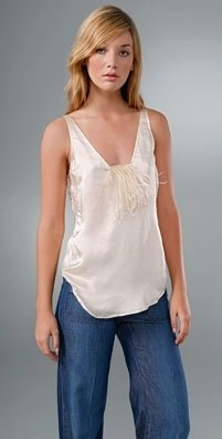 Twelfth St. By Cynthia Vincent Feather Camisole
