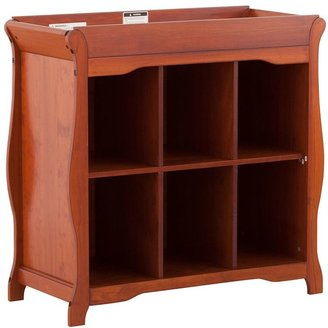 Stork Craft Aspen 6-Cube Organizer Changing Table