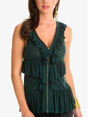 GUESS by Marciano Brynn Ruffled Top