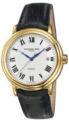 Raymond Weil Men's Maestro Gold Case Watch