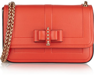 Christian Louboutin Sweet Charity small bow-embellished leather shoulder bag