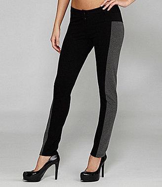 Gianni Bini Phoebe Two-Tone Knit Pants