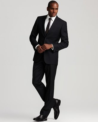 Burberry Milbury Suit in Navy