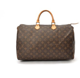 Louis Vuitton Pre-Owned: brown monogram canvas 'Speedy 40' bag