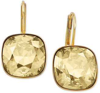 Swarovski Earrings, 22k Gold-Plated Sheena Drop Earrings