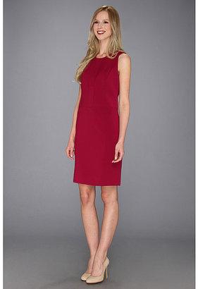 Anne Klein Crew Neck Sheath Dress