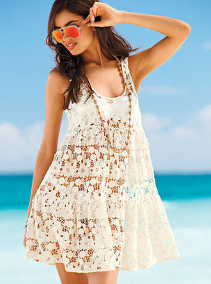 Beach Sexy Lace Cover-up Dress