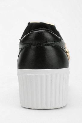 Jeffrey Campbell Cya Skull Low-Top Flatform-Sneaker