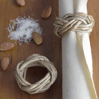 west elm Banana Bark Napkin Ring