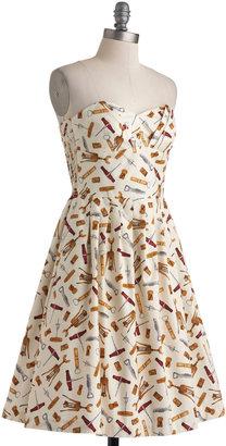 In Vino Veritas Dress