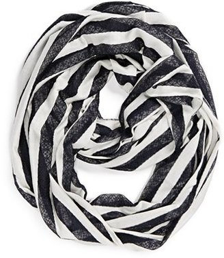 BP Stripe Lace Infinity Scarf (Juniors)