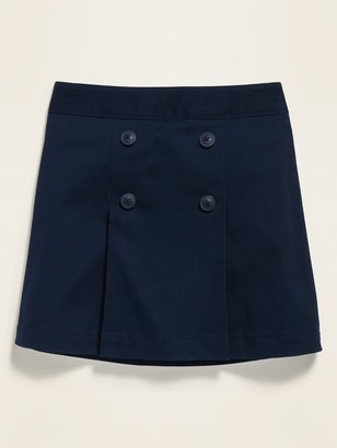 Old Navy Uniform Pleated Twill Skort for Girls