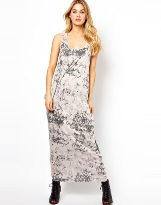 Vila Parachute Printed Maxi Dress