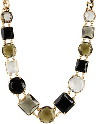 Kate Spade Kaleidoscope Long Necklace (Black Diamond/Multi) - Jewelry