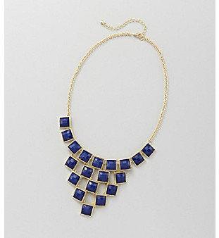Studio Works® Goldtone Square Facet Necklace