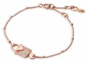 Michael Kors Sterling Silver Pavé Crystal Bracelet