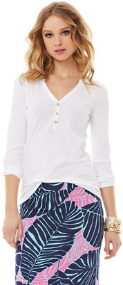 Lilly Pulitzer FINAL SALE - Janelle Henley Top