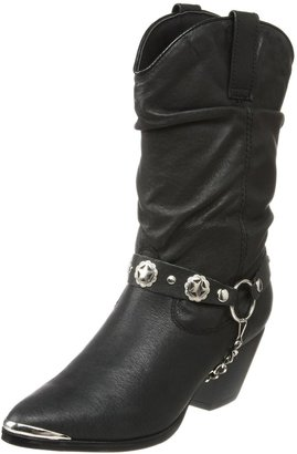 Dingo Ladies' Pigskin Slouch Harness Boot