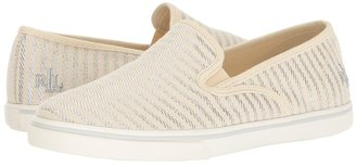 LAUREN Ralph Lauren - Janis Women's Slip on Shoes $49 thestylecure.com