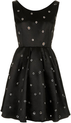 Kate Moss for topshop **diamante embellished prom dress