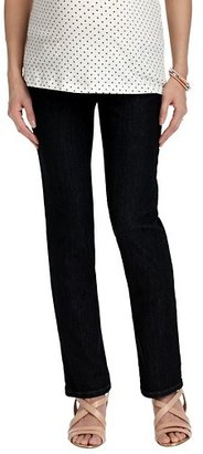 LOFT Maternity Modern Straight Leg Jeans in Rinse Wash