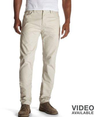 Levi's 508 taper fit twill pants - men