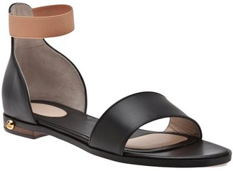 Givenchy Flat leather sandal