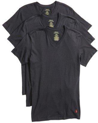 Men's Polo Ralph Lauren 3-Pack Trim Fit T-Shirt $39.50 thestylecure.com