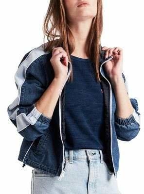 Levi's Geri Zip-Up Denim Jacket